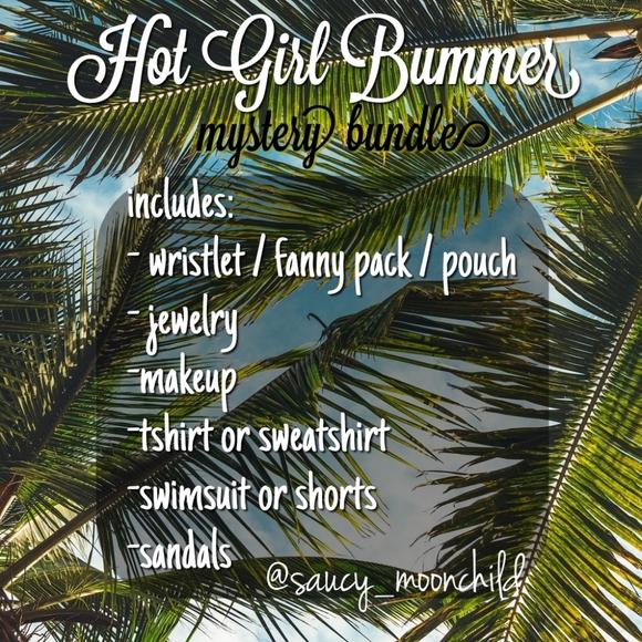 Brandy Melville Accessories - Hot Girl Bummer summer mystery box 📦
